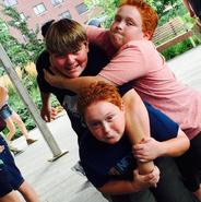 Matthew Scott Miller and Royer twins