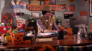 Roberts office in halloween
