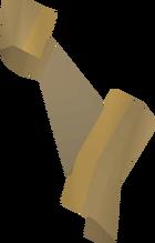 Torn clue scroll (part 2) detail