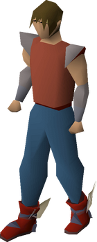Primordial boots equipped