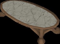 Opulent table built