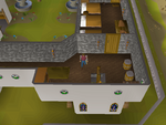 Emote clue - bow edgeville monastery