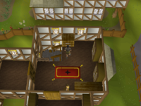 Cryptic clue - search drawers east ardougne