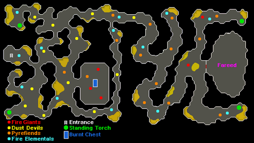 Smoke Dungeon map