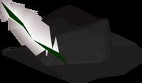 Black cavalier detail