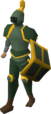 Adamant gold-trimmed set (lg) equipped.png
