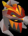 Magma helm detail
