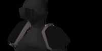 Black plateskirt (t)