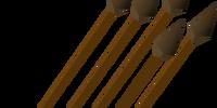 Bronze arrow