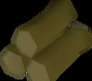 Willow logs