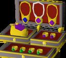 Ornate jewellery box