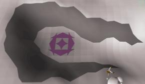 Settlement Ruins mysterious symbol