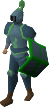 Guthix armour set (lg) equipped