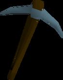 Rune pickaxe detail