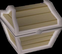 Teak prize chest built