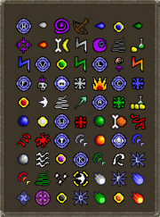 Standard spells