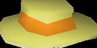 Orange boater