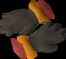 Warm gloves