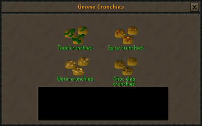 Gnome crunchy preparing interface