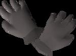 Iron gloves detail