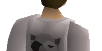 Bob's black shirt