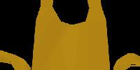 Golden apron