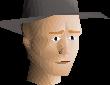 Grey hat chathead
