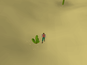 Hot cold clue - West of Uzer