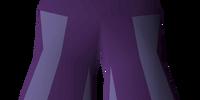 Purple elegant legs