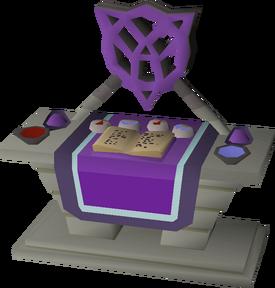 Dark altar (POH) built