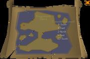 Treasure map read