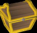 Mahogany prize chest