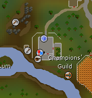 Champions' Guild map