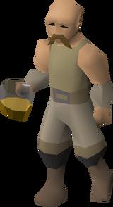 Khorvak, a dwarven engineer