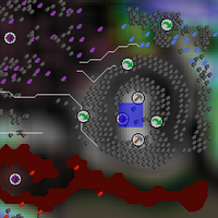 Hot cold clue - Arceuus essence mine map
