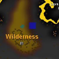 Hot cold clue - east of wilderness canoe exit map