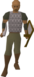 Guard (Desert Mining Camp) (bald)