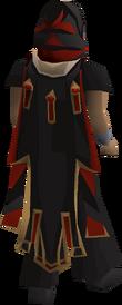 Zamorak max cape equipped