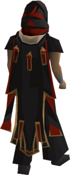 Zamorak max cape equipped