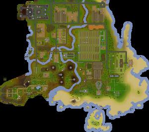Hosidius House map