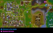 Priest in Peril Map