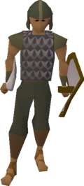 Guard (Desert Mining Camp) (iron helm)