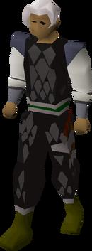 Black d'hide (t) set equipped