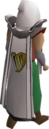 Music cape equipped