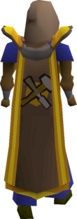 Crafting cape(t) equipped