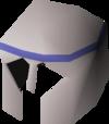 White decorative helm detail