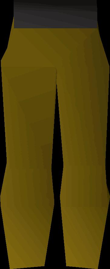 Plague trousers detail