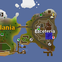 Hot cold clue - Etceteria map
