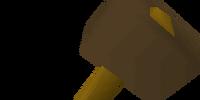 Bronze warhammer