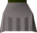 Steel plateskirt
